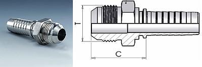Фитинг DKI Метрические соединения с уплотнительным конусом 74°