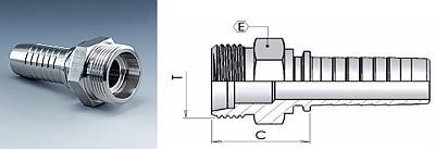 Фитинг DKOL- DKOS Метрические соединения с уплотнительным конусом 24°