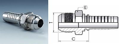 Фитинг JIC Соединения Арматуры с соединением 74° в соотв. с SAE J514 или ISO 8434-2